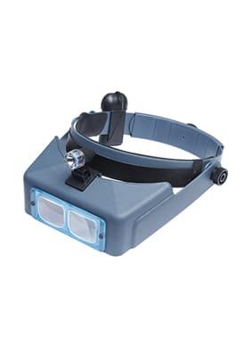 """Headband Magnifier  4"""" Distance  3.5x"""
