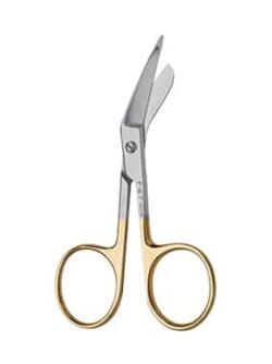 Mini Lister Scissors Serrated Tungsten Carbide 9cm