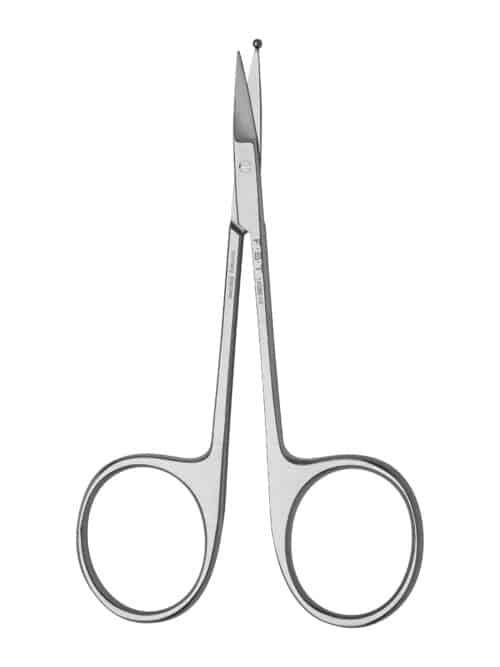 Bonn Artery Scissors with Ball Tip  9cm