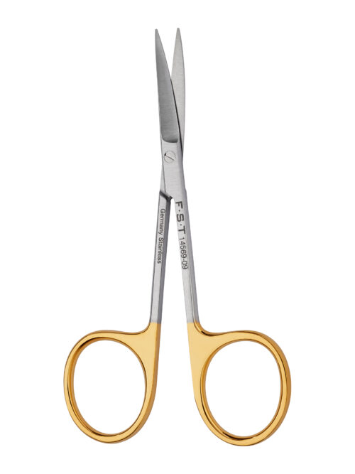 Fine Scissors  Tungsten Carbide  Curved  9cm