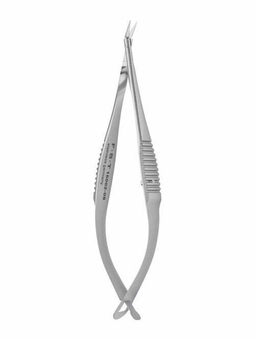 Vannas Spring Scissors  Angled  2.5mm Cutting Edge